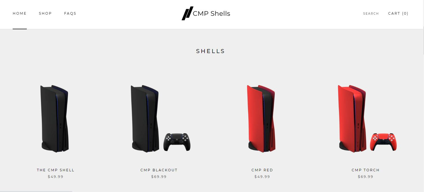 PS5 CMP Shells